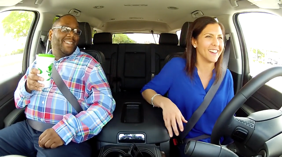 Carpool Conversations – a new spin on the recruitment video